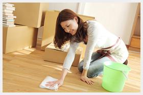 お部屋の清掃で不動産の売価を上げる